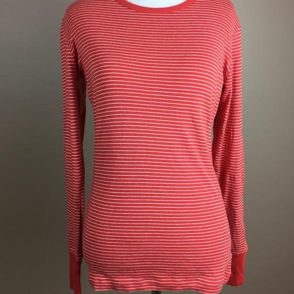 981520916ddecb GAP Tops | Red White Stripes Long Sleeve Shirt | Poshmark